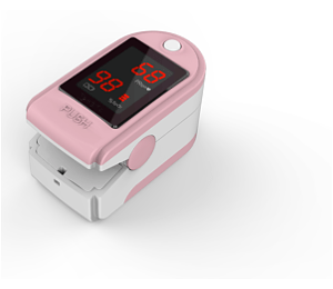 Image for  3B Medical Digital Pulse Oximeter With Lanyard and Carry Case