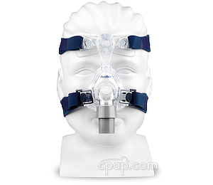Mirage Micro Nasal CPAP Mask (front- on mannequin)