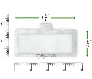 Image for Disposable White Filters for Respironics Remstar Lite, Remstar Plus, Remstar Pro, Remstar Auto,  Bipap Plus, Bipap Pro 2, Bipap Auto, Bipap ST (6 Pack)