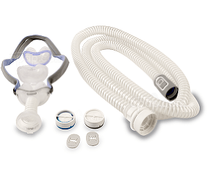 Image for AirMini™ Mask Setup Pack with AirFit™ P10 Nasal Pillow CPAP Mask