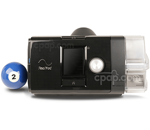 AirSense™ 10 Elite CPAP Machine with HumidAir™ Heated Humidifier (Billiards Ball Not Included)