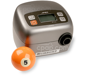 XT Fit CPAP Machine (Billiards Ball Not Included)