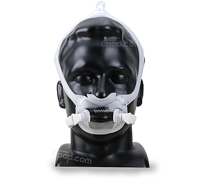 Image for DreamWear Full Face CPAP Mask with Headgear - Fit Pack (S, M, MW, L Cushions with Medium Frame)