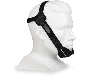 Halo Chinstrap Angled Front - Shown on Mannequin (Not Included)