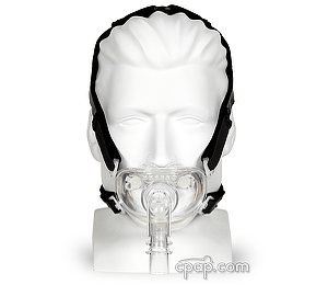 Image for Hybrid Full Face CPAP Mask with Nasal Pillows and Headgear