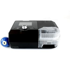 Image for Luna II CPAP Machine with Humidifier