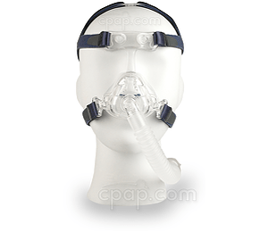 Nonny Pediatric Nasal CPAP Mask with Headgear - Front View (Mannequin Not Included)