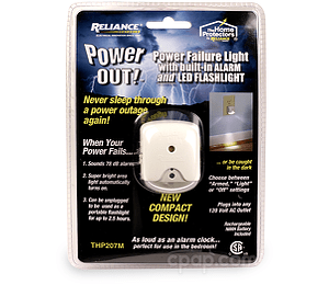 Image for PowerOUT! Power Failure Light with Alarm and Flashlight