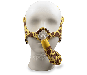 Wisp Pediatric Nasal CPAP Mask with Headgear (Mannequin Not Included)