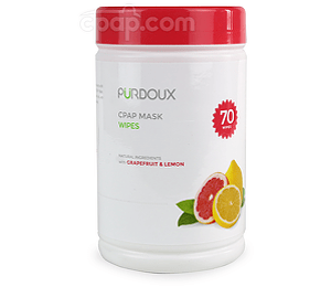 Image for Purdoux Grapefruit & Lemon CPAP Mask Wipes