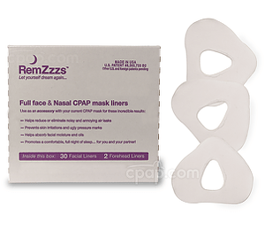Image for RemZzzs Padded Nasal CPAP Mask Liners (30-day Supply)