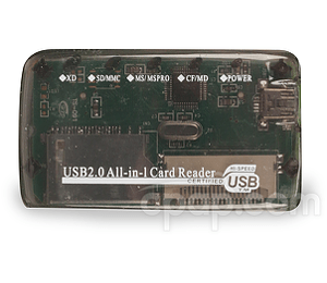 Image for SD Memory Card Reader for IntelliPAP, PR System One, Curasa, S9, AirSense 10, and AirCurve 10 CPAP Machines